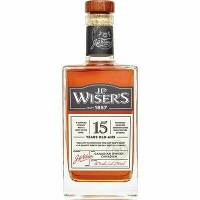 J.P. Wiser's 15 Year   750 ML