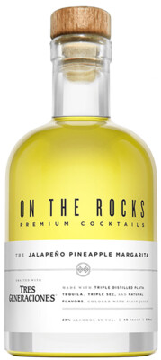 On The Rocks Jalapeno Pineapple Margarita   375 ML
