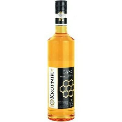 Bak's Krupnik Honey Liqueur   750 ML