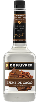 Dekuyper Creme De Cacao White   750 ML