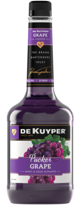 Dekuyper Grape Pucker Schnapps   750 ML