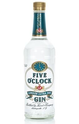 Five O'Clock Gin   750 ML