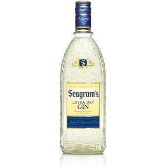Seagram's Extra Dry Gin - Plastic   750 ML