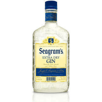 Seagram's Extra Dry Gin   375 ML