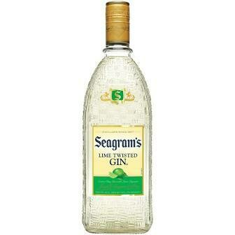 Seagram's Lime Twisted Gin   750 ML