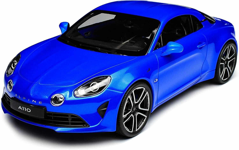 Alpine A110 Première Edition 2017 - Blue  1/18
