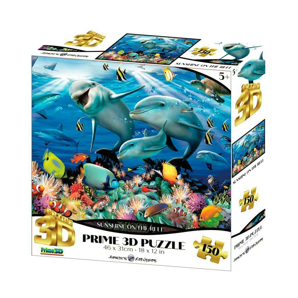Puzzle 3D - Sur le récif