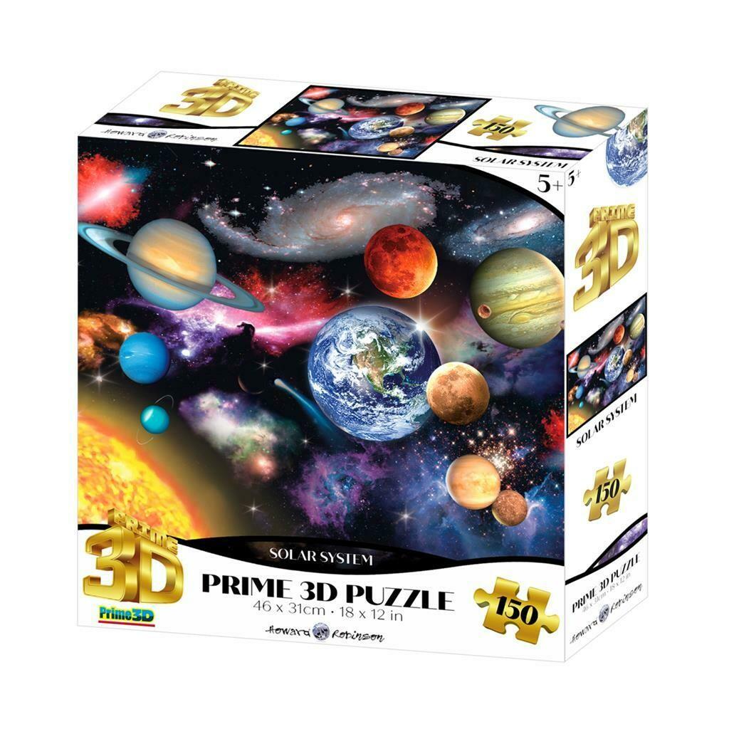 Puzzle 3D - Système solaire