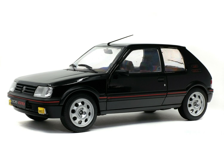 PEUGEOT 205 GTI 1.9L MK 2 – NOIR ONYX -1990 - 1/18