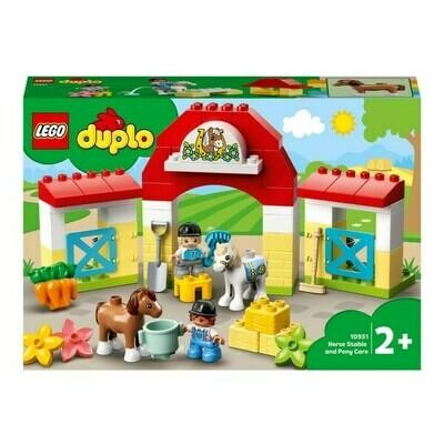 LEGO® DUPLO - L'écurie et les poneys