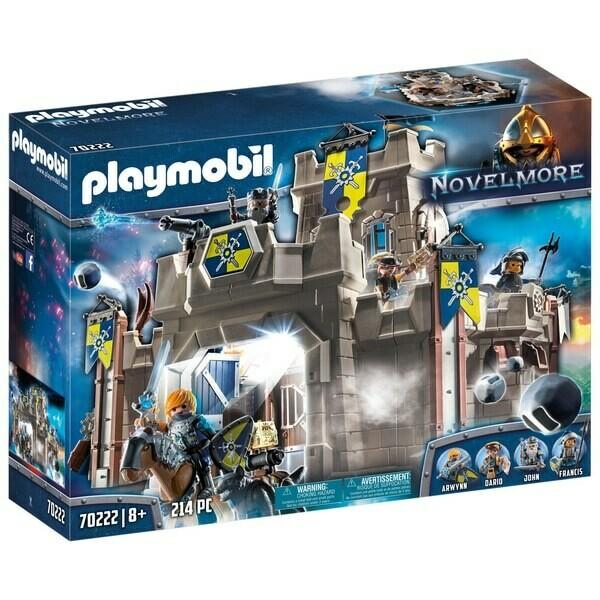 Playmobil Novelmore - Citadelle des chevaliers du Loup