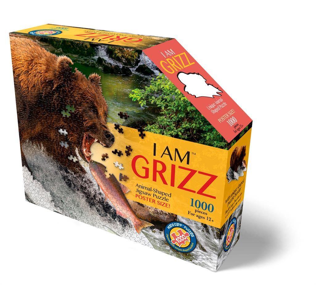 I AM - Puzzle 1000 pièces - GRIZZLI