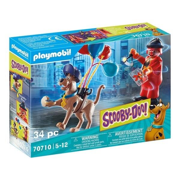 Playmobil SCOOBY-DOO avec fantôme du clown