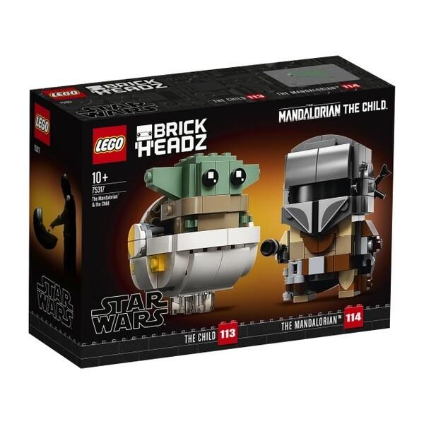 LEGO® BrickHeadz™- The Mandalorian et l'Enfant