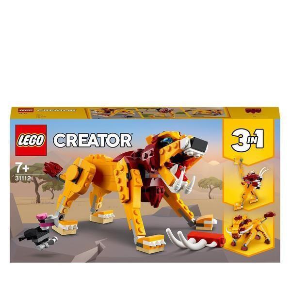 LEGO® Creator - Le lion sauvage