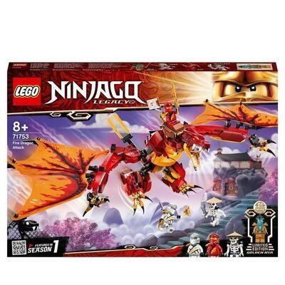 LEGO® Ninjago - L'attaque du dragon de feu