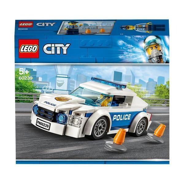 LEGO® City La voiture de patrouille de la police