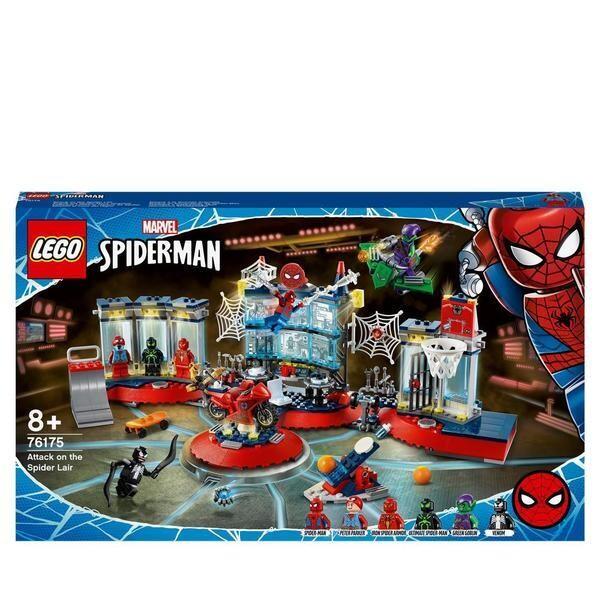 LEGO® Marvel Super Heroes - L'attaque contre le repaire de Spider