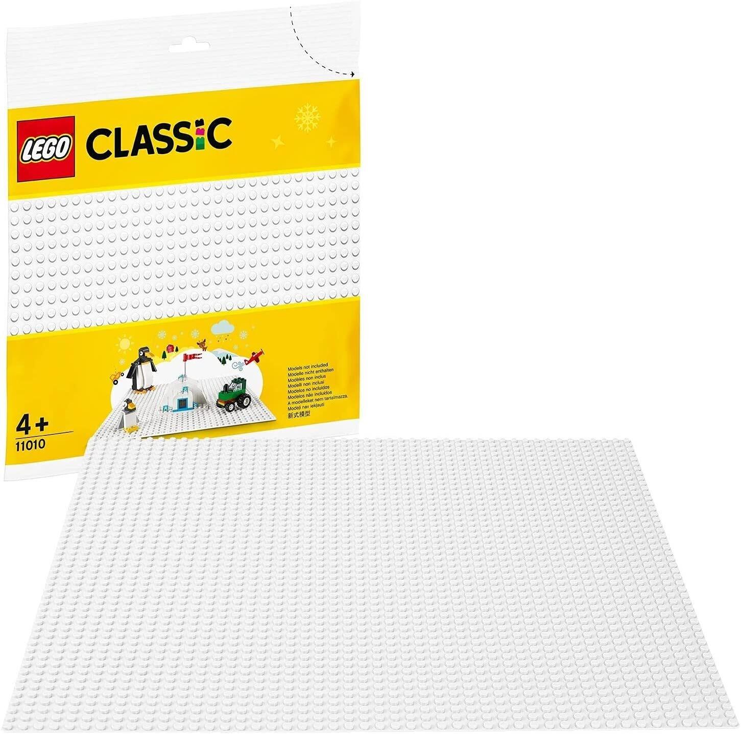 LEGO® Classic plaque de base blanche