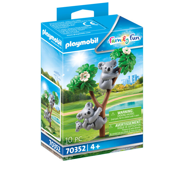 Playmobil Family Fun - Couple de koalas avec bébé