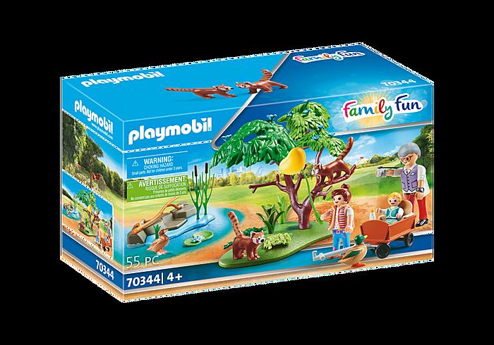 Playmobil Family Fun - Panda roux avec enfants