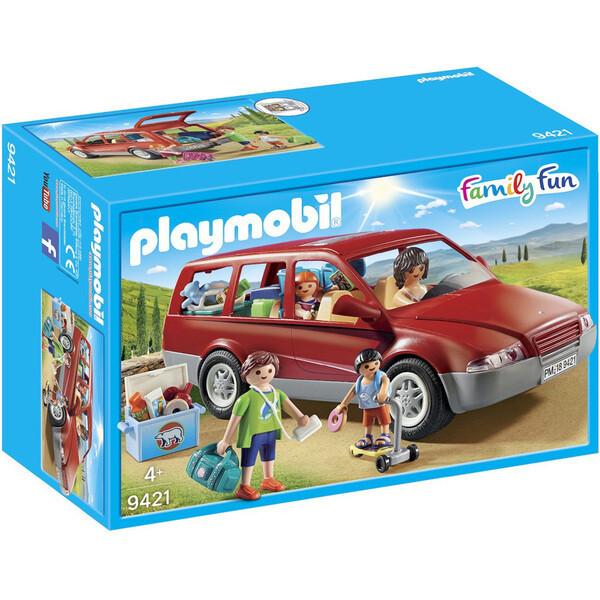 Playmobil Family Fun - Famille avec voiture