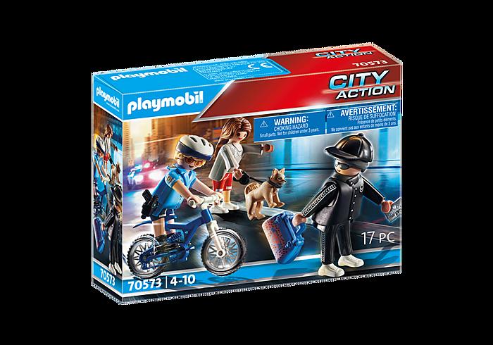 Playmobil CIty Action - Policière et voleur