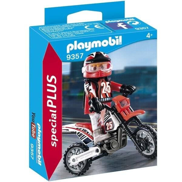 Playmobil Spécial Plus - Pilote de motocross