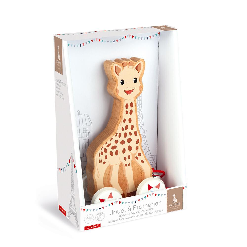 Janod - Jouet à Promener Sophie la girafe