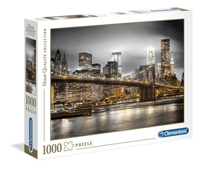 CLEMENTONI - New York Skyline - 1000 pièces - High Quality Collection