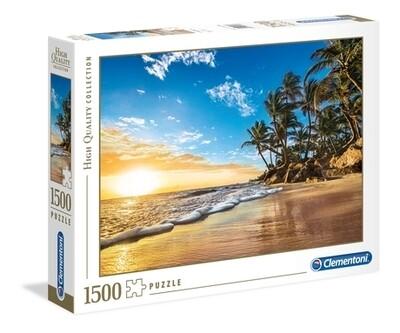 CLEMENTONI - Tropical sunrise - 1500 pièces - High Quality Collection