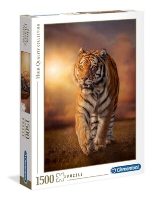 CLEMENTONI - Tiger - 1500 pièces - High Quality Collection