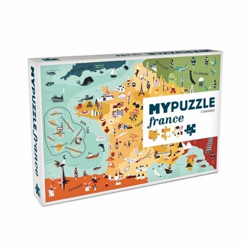 HELVETIQ - MYPUZZLE FRANCE - 252 pieces