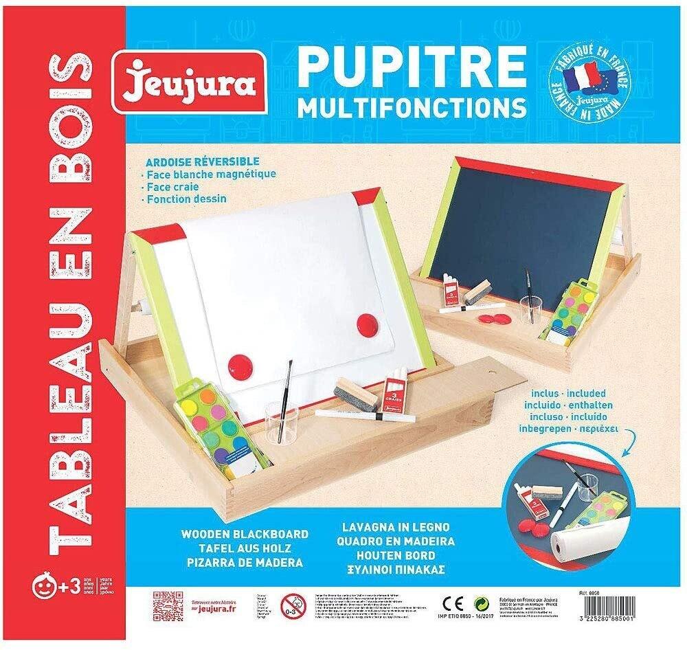 JEUJURA - Pupitre multifonctions en bois