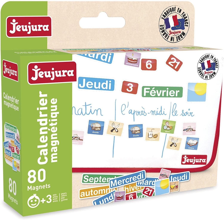 JEUJURA - Magnets Calendrier