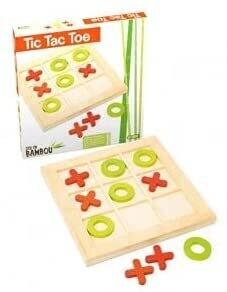 JEUJURA - Tic Tac Toe en bambou