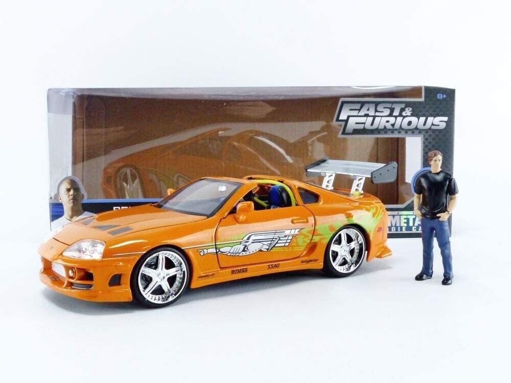 JADA - Brian & 1995 Toyota Supra (1:24)