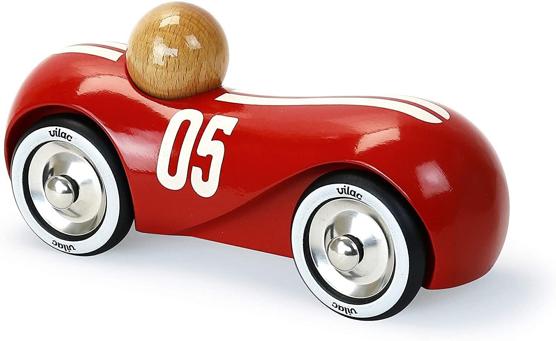 Vilac -  Streamline vintage rouge en bois
