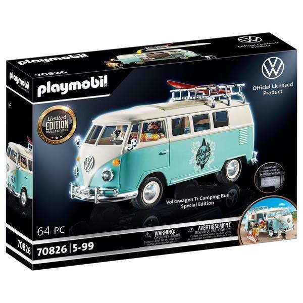 Playmobil Volkswagen - T1 Combi édition limitée