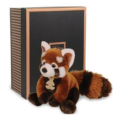 Peluche Les Authentiques - Le panda rouge - 20 cm