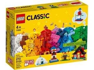 LEGO® Classic briques et maisons