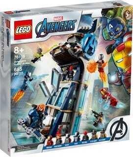 LEGO® Marvel Avengers - La tour de combat des Avengers