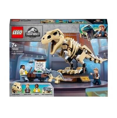 LEGO® Jurassic World - L'exposition du fossile du T. Rex