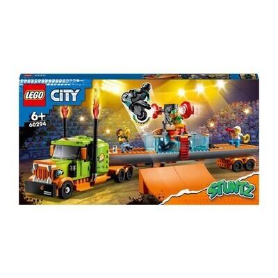 LEGO® City - Le camion de spectacle des cascadeurs