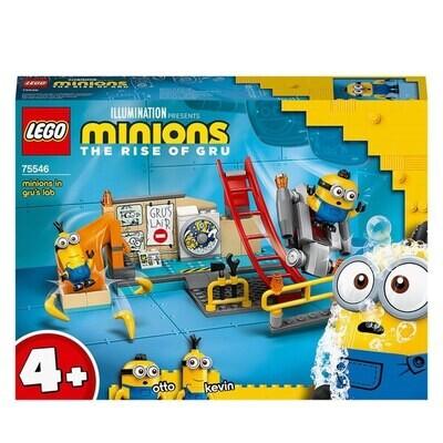 LEGO® Minions -  Les Minions dans le laboratoire de Gru
