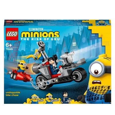LEGO® Minions -  La course-poursuite en moto