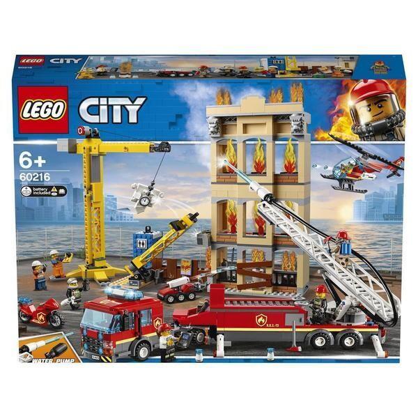 LEGO® City - Les pompiers du centre-ville