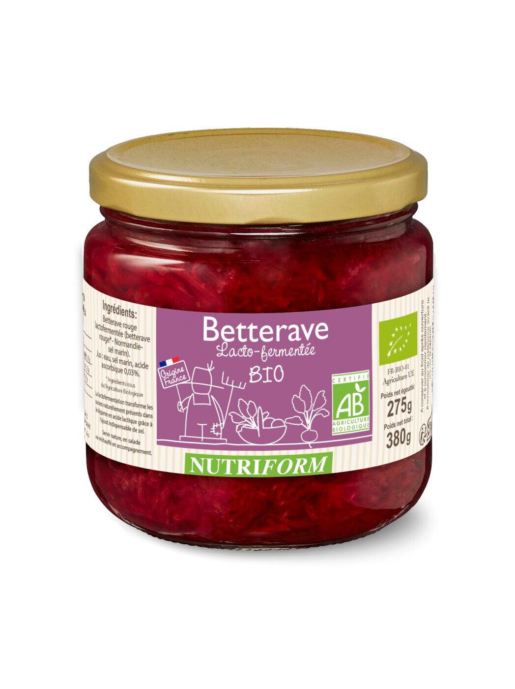 Betterave rouge lactofermentée - 380g