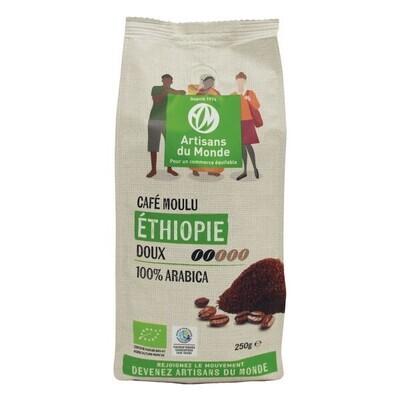 Café moulu arabica Ethiopie Moka - 250g