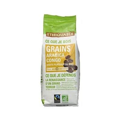 Café grain arabica Congo - 250g